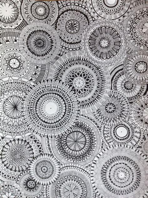 doodle circle of circles doodle concentric circles