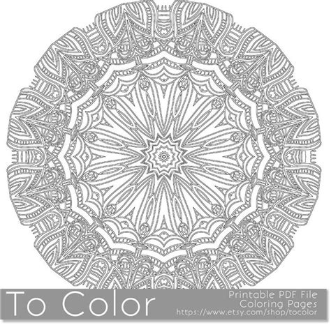 mandala coloring book pens coloring pages for adults to print intricate printable