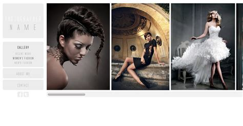photography template photography website template free photography web