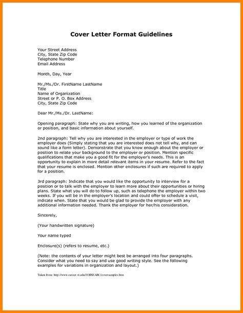 cover letter set up cover letter set up how to format cover letter