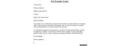Application Letter Format For Transfer Transfer Letter Sample Business Letter Examples