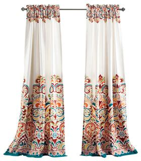 contemporary curtains modern paisley blackout curtains set of 2 contemporary