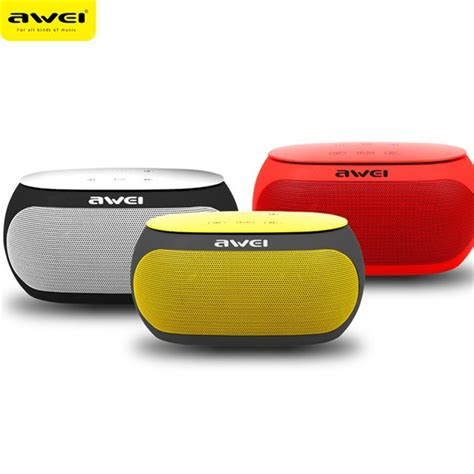 Awei Portable Bluetooth Speaker Y200 awei y200 wireless bluetooth 2500 mah tf card aux input handfree speaker with mic alex nld