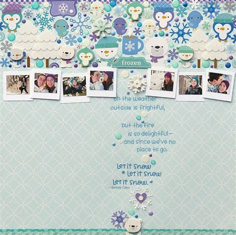 Luv2scrapbook Scrapbook Layout Contest by 100 A Day Creativity Contest Scrapbook