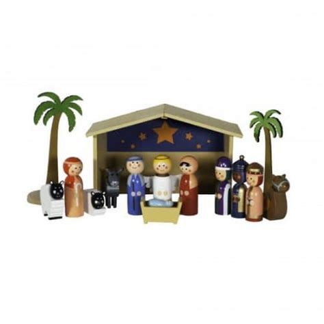 pottery barn nativity set nativities for children the chirping