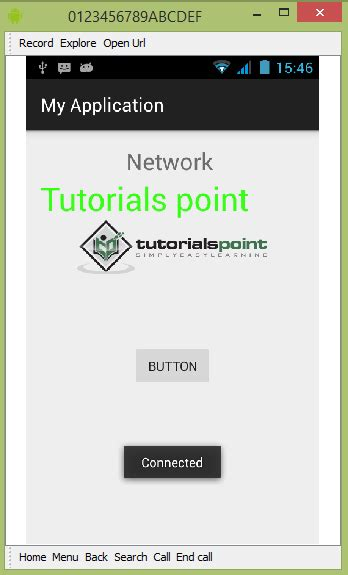 tutorialspoint internet android network connection