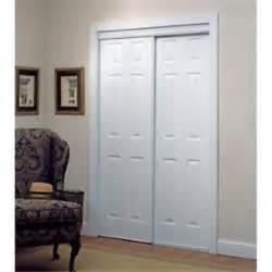 Six Panel Sliding Closet Doors Truporte 72x80 Framed Sliding Bypass Closet Doors 6 Panel White 106 340012 New Ebay