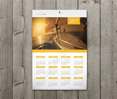 best calendar with holidays 2018 clean design for photo