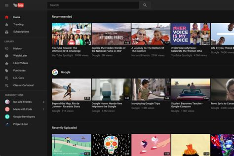 youtube website layout youtube now formally lets you opt in for material design