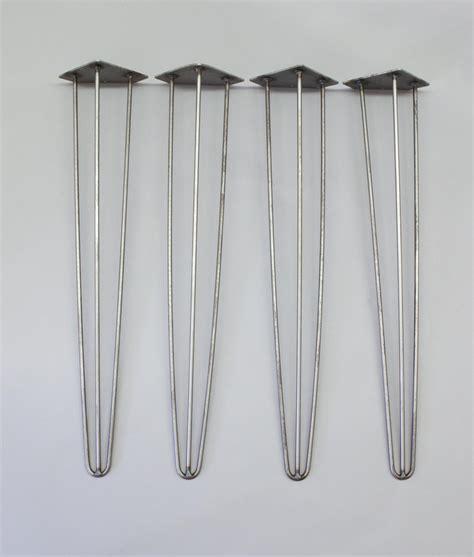hair pin table legs hairpin table legs steel industrial design 4 pack