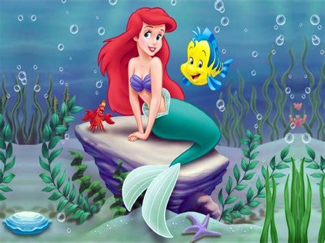 little mermaid disney cartoon fishes hd wallpaper fonditos la sirenita caricaturas la sirenita cartoon