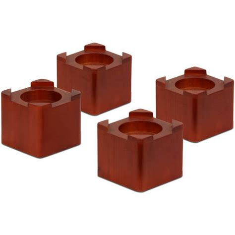 walmart bed risers honey can do wood bed lifts 4 pack walmart com