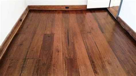 chestnut wood floor stain newly installed poplar with chestnut stain yelp