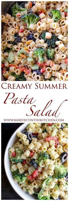 creamy pasta salad recipe the links site this tri color pasta salad is a quick and easy rotini