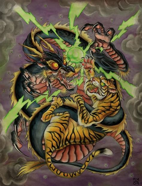 tattoo dragon vs tiger 145 best agle vs 167 nake vs ca images on pinterest