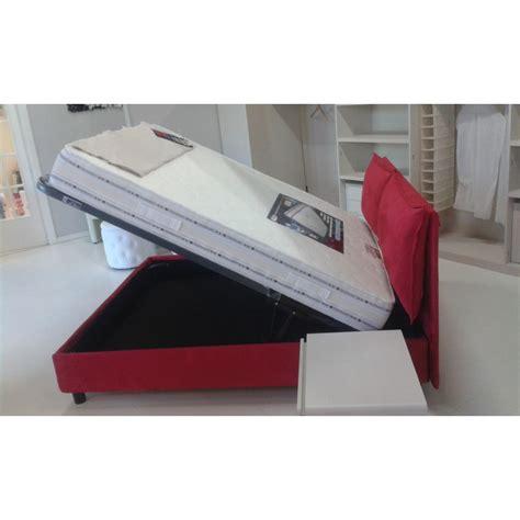 letto con testata contenitore letto matrimoniale 160x190 contenitore imbottito con rete