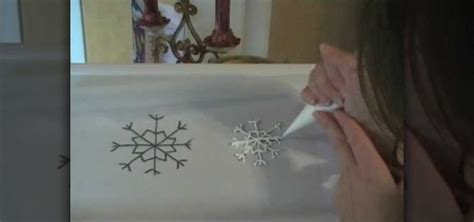 how to make a royal icing snowflake for your cake 171 cake