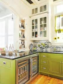 Green And White Kitchen Cabinets green and white kitchen