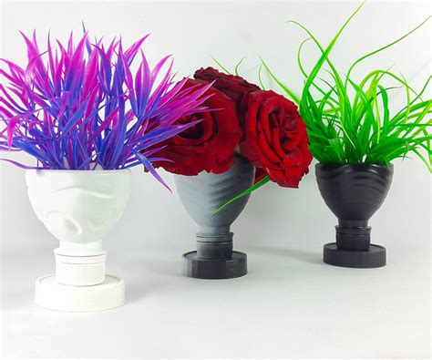 Make A L Out Of A Vase by Diy Flower Vase How To Make A Flower Vase Out Of Plastic