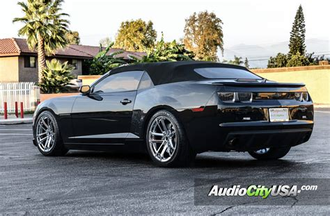 wheels chevy camaro 2012 chevy camaro ss convertible 20 quot zl1 replica wheels