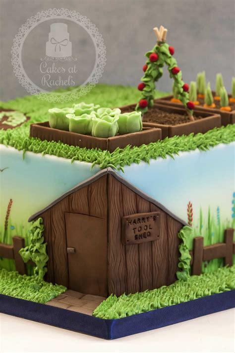 garden themed cake    birthday follow   wwwfacebookcomcakesatrachels