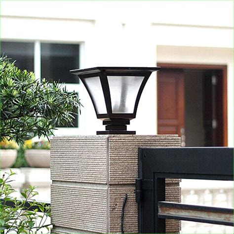solar light posts outdoor solar lights l posts outdoor stonescapeco oregonuforeview