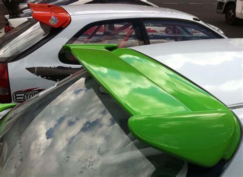 civic ek rear ek9 type r spoiler for 3 door hatch 1996