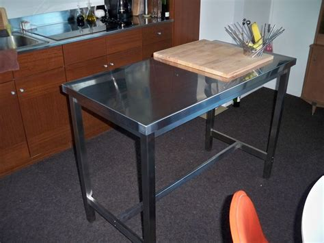Utby Bar Table Ikea M O D E R N F R O S T New Kitchen Workspace