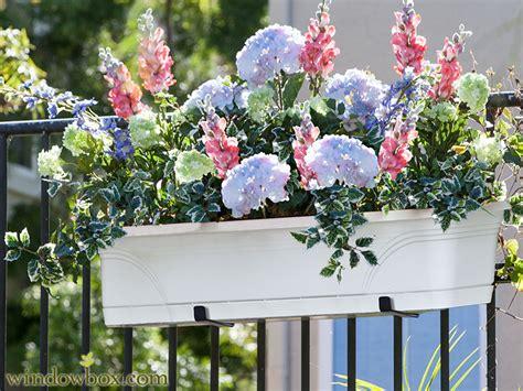 balcony railing planter kit planter rail planter brackets