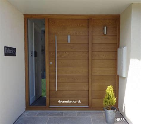 oak front doors uk contemporary front doors oak iroko and other woods