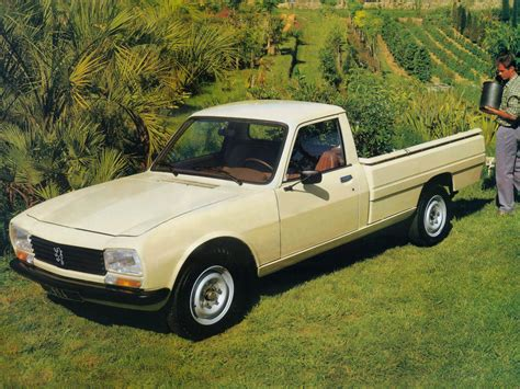peugeot 504 pickup 1970 peugeot 504 pick up carsaddiction com