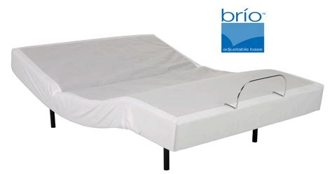 brio sleep adjustable mattress bed powerbases to raise head and foot