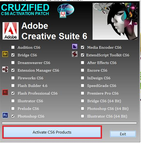 tutorial untuk adobe photoshop cs6 tutorial aktifkan adobe cs6 master collection via patch
