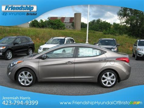 2013 desert bronze hyundai elantra limited 66207557 photo 2 gtcarlot car color galleries