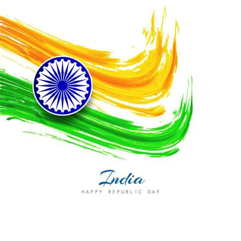 tri color theme powerpoint free download abstract indian flag theme background design flag of india