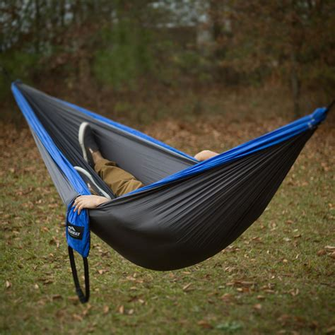 Hammock To Go blue charcoal travel hammock castaway travel
