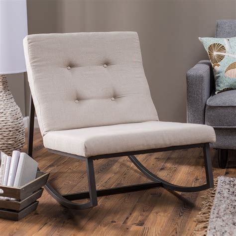 tufted rocking chair belham living grayson tufted rocking chair indoor