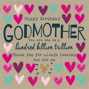 brilliant greetings birthday wishes for godmother