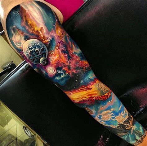 finger tattoo galaxy space tattoo sleeve tattoos pinterest tattoo spaces