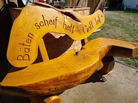 bank aus holzstamm rustikale gartenm 246 bel aus massivem eichenholz lewitz holz