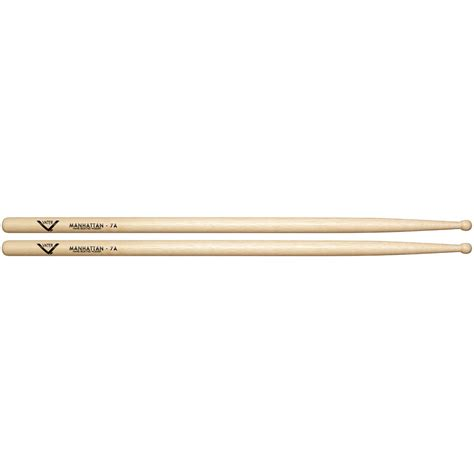 Stick Drum Vater Vh7aw 7a Wood Tip vater american hickory manhattan 7a wood 171 drumsticks