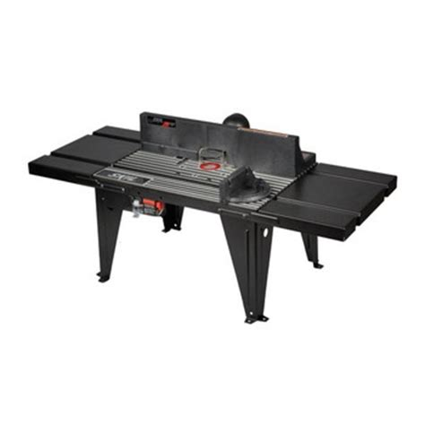 one ahead table and accessories skil ras450 table router aluminum bench top with