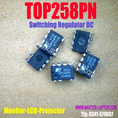 Sparepart Lcd Proyektor top258pn power integrations ac dc converters lcd projector