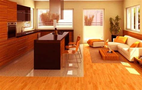 Kitchen Tile Living Room Hardwood 20 Stunning Kitchen Flooring Ideas For Your Home