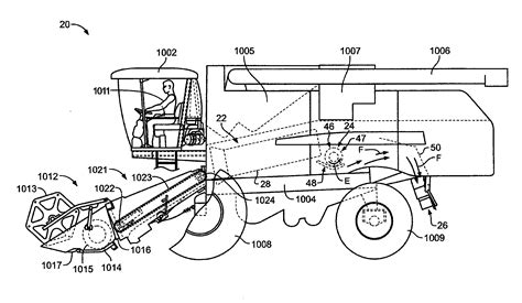 combine harvester parts diagram patent us20100048269 foreign object detection and