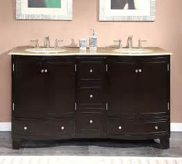 Ebay 60 Inch Vanity 60 Inch Travertine Top Bathroom Vanity Dual Lavatory