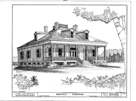Louisiana Style Home Plans | wormsloe plantation house louisiana plantation style house