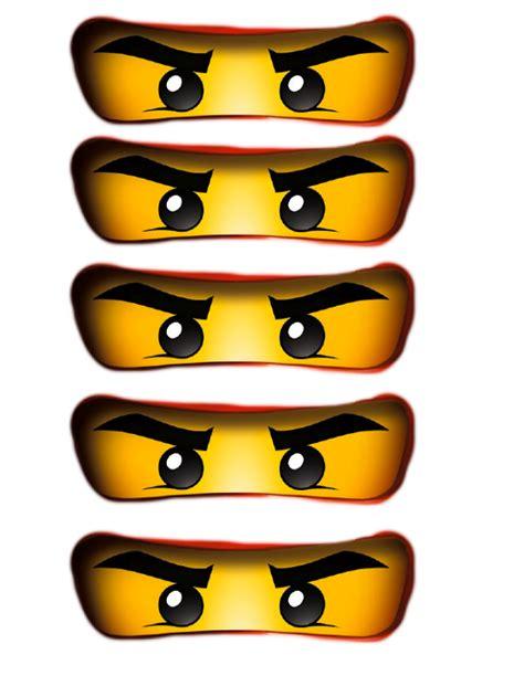 ninjago template ninjago free printables print these out for