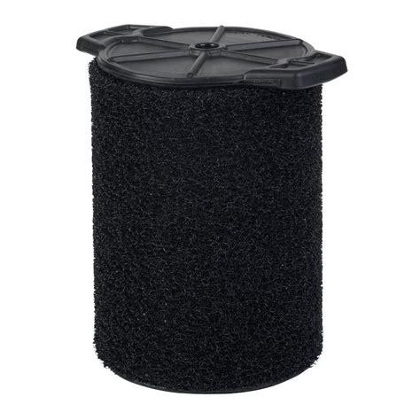 ridgid application foam filter for 5 0 gal ridgid