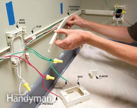 surface mount electrical conduit systems how to add outlets easily with surface wiring the family